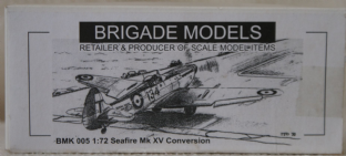 Brigade Models 1/72 BMK005 Supermarine Seafire MK.XV Conversion Set
